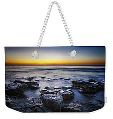 Sunrise At Cave Point Weekender Tote Bag