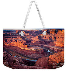 Sunrise At Dead Horse Point Weekender Tote Bag by Bob and Nancy Kendrick