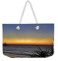 Sunrise At Folly Weekender Tote Bag