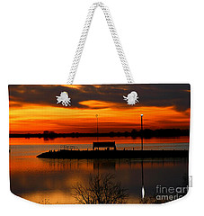 Sunrise At Jackson Weekender Tote Bag