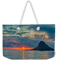 Sunrise At Kualoa Park Weekender Tote Bag by Dan McManus