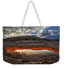 Sunrise At Mesa Arch Weekender Tote Bag