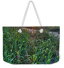 Weekender Tote Bag featuring the photograph Sunrise At Myrtle Beach by Alex Grichenko
