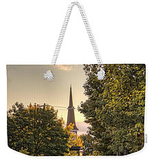 Sunrise At The End Of The Street Weekender Tote Bag by Daniel Sheldon