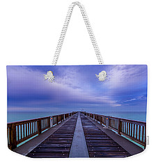 Sunrise At The Panama City Beach Pier Weekender Tote Bag