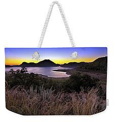 Sunrise Behind The Quartz Mountains - Oklahoma - Lake Altus Weekender Tote Bag
