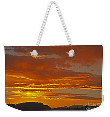 Sunrise Capitol Reef National Park Weekender Tote Bag