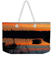 Weekender Tote Bag featuring the photograph Sunrise Cove  by Dianne Cowen