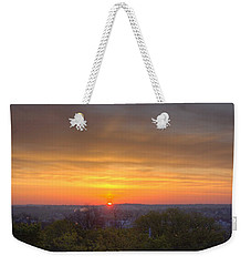 Weekender Tote Bag featuring the photograph Sunrise by Daniel Sheldon