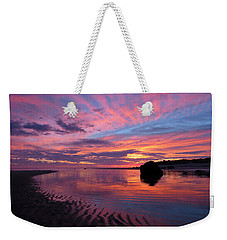 Weekender Tote Bag featuring the photograph Sunrise Drama by Dianne Cowen