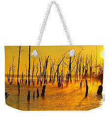 Sunrise Fog Shadows Weekender Tote Bag