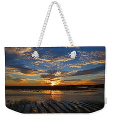 Weekender Tote Bag featuring the photograph Sunrise Glory by Dianne Cowen
