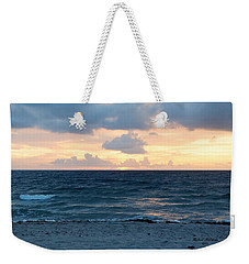 Weekender Tote Bag featuring the photograph Sunrise In Deerfield Beach by Rafael Salazar