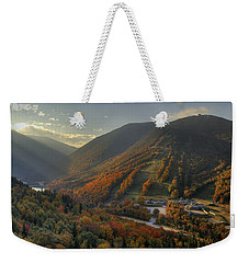 Sunrise In Franconia Notch Weekender Tote Bag