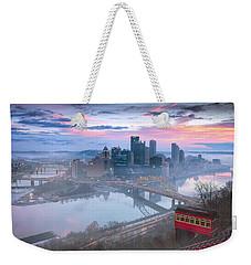 Pittsburgh Fall Day Weekender Tote Bag by Emmanuel Panagiotakis