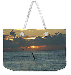Weekender Tote Bag featuring the photograph Sunrise In The Florida Riviera by Rafael Salazar