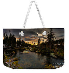 Sunrise In The Indian Peaks Weekender Tote Bag
