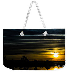 Weekender Tote Bag featuring the photograph Sunrise In Virginia by Angela DeFrias