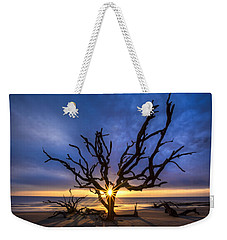 Sunrise Jewel Weekender Tote Bag by Debra and Dave Vanderlaan