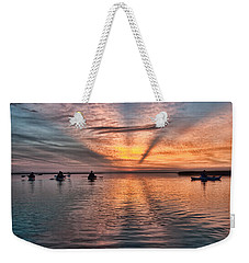 Sunrise Kayaking Weekender Tote Bag