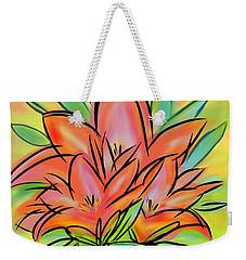 Sunrise Lily Weekender Tote Bag