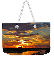 Weekender Tote Bag featuring the photograph Sunrise Magic by Dianne Cowen