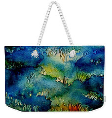 Sunrise Misty Woodland  Weekender Tote Bag