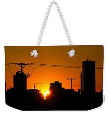 Sunrise -- My Columbia Seen Weekender Tote Bag