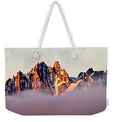 Sunrise On An Island In The Sky Weekender Tote Bag