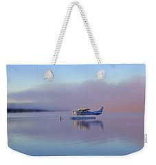 Sunrise On Lake Te Anu Weekender Tote Bag by Venetia Featherstone-Witty