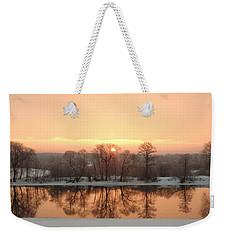Sunrise On The Ema River Weekender Tote Bag