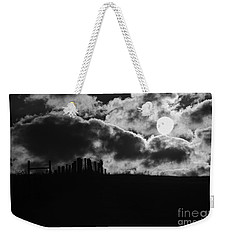 Sunrise On The Farm Bw Weekender Tote Bag