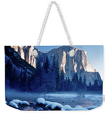 Sunrise On El Capitan Yosemite National Park Weekender Tote Bag