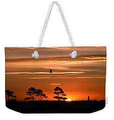 Sunrise Over Fenwick Island Weekender Tote Bag