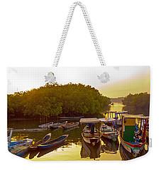 Sunrise Over Gambian Creek Weekender Tote Bag