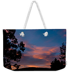 Sunrise Over Mammoth Campground Weekender Tote Bag
