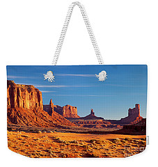 Sunrise Over Monument Valley Weekender Tote Bag