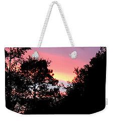 Sunrise Over Perry Weekender Tote Bag