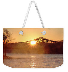Sunrise Over Table Rock Weekender Tote Bag