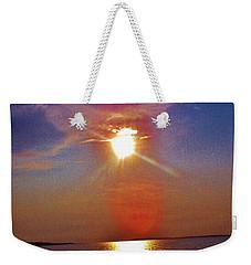Sunrise Over The Big Mac Weekender Tote Bag by Daniel Thompson