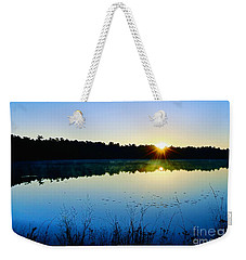 Sunrise Over The Lake Weekender Tote Bag