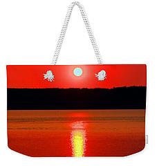 Sunrise Over Whidbey Island Weekender Tote Bag
