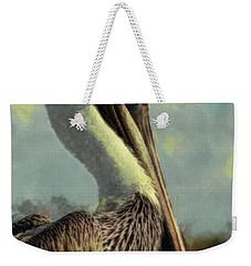 Sunrise Pelican Weekender Tote Bag