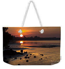Weekender Tote Bag featuring the photograph Sunrise Photograph by Meg Rousher