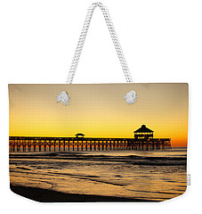Sunrise Pier Folly Beach Sc Weekender Tote Bag