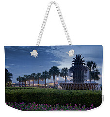 Sunrise Pineapple Fountain Weekender Tote Bag