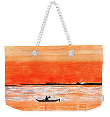 Sunrise Sail Weekender Tote Bag by Sonali Gangane