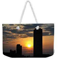 Sunrise Silhouette Buffalo Ny V2 Weekender Tote Bag