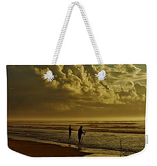 Sunrise Surf Fishing Weekender Tote Bag by Ed Sweeney
