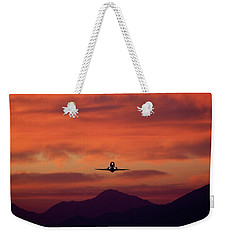 Sunrise Takeoff Weekender Tote Bag